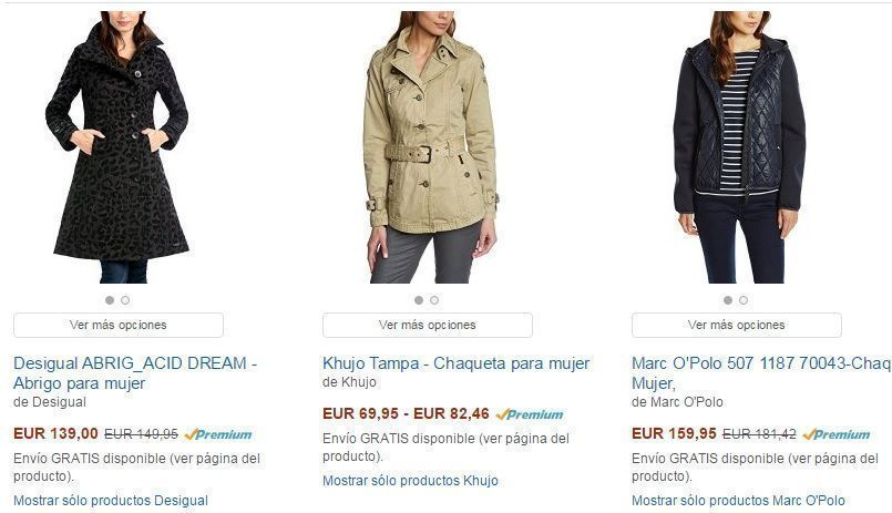 ropa mujer barata en amazon