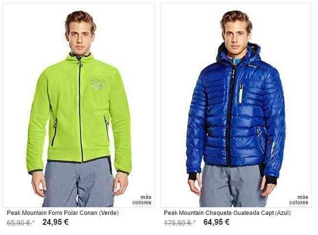 ropa de hombre para montaña online chaquetas y pantalones
