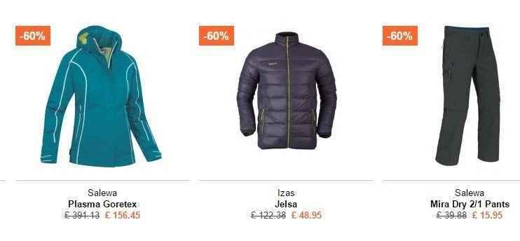 ropa de trekking muy barata online para hombre y mujer