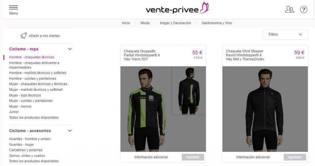 ropa de ciclista en oferta