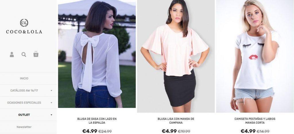 ropa de mujer barata