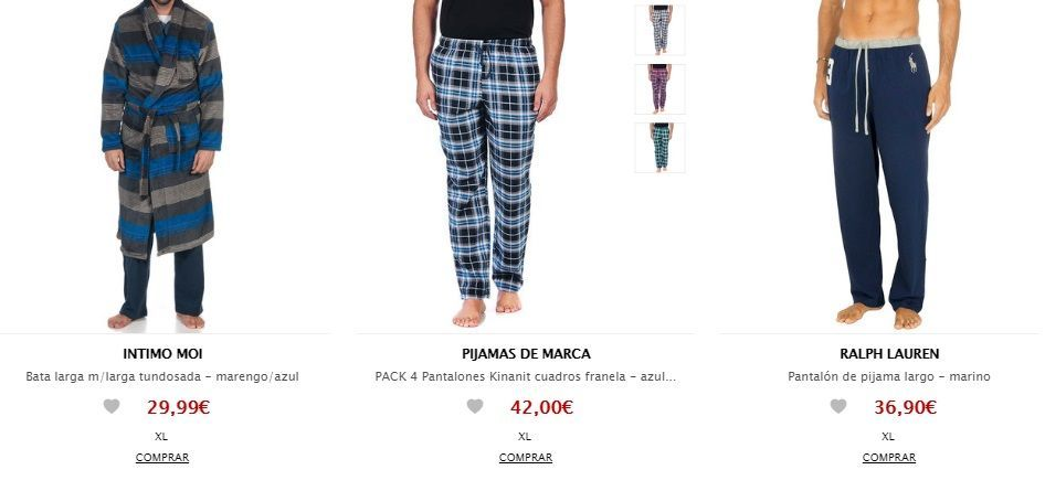 pijama de marca barato
