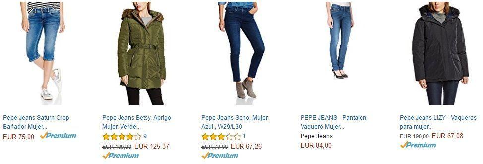ropa pepe jeans rabajada