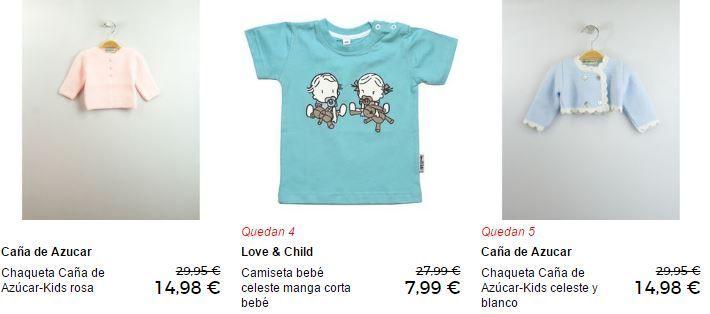 ropa infantil rabajada
