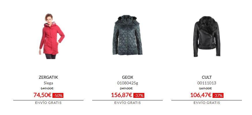 abrigos baratos mujer