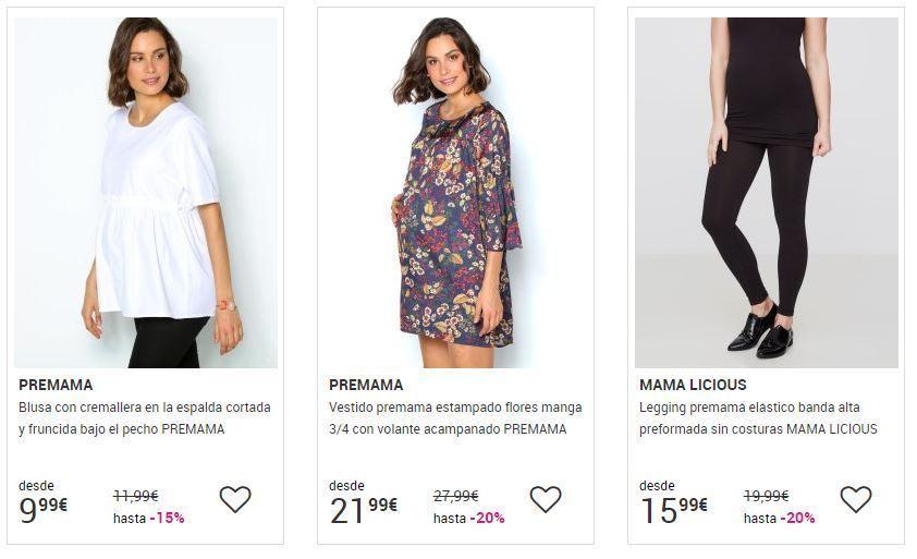 ropa online de premama barata