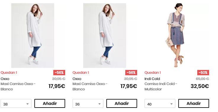 camisas y blusas baratas online