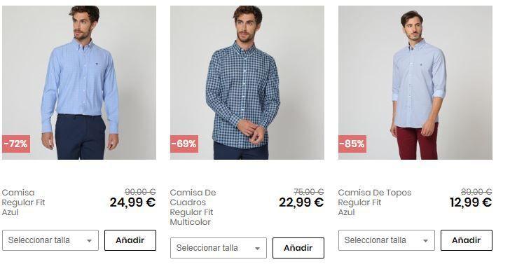 camisas hombre baratas