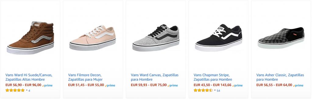 Vans Amazon