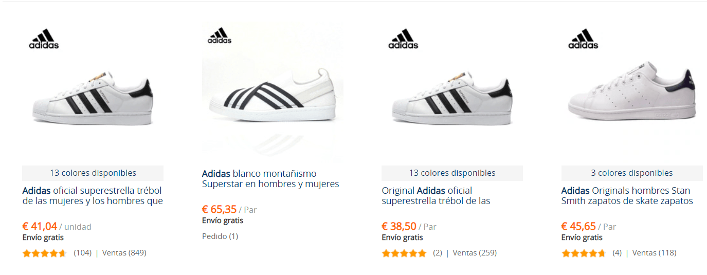 Zapatillas adidas china