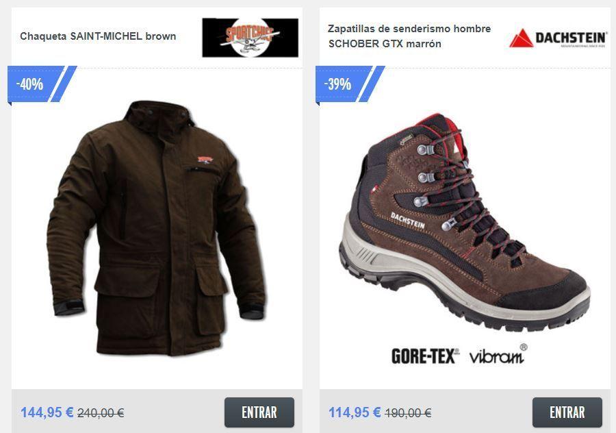 Botas y abrigo de caza