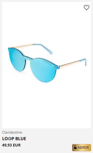 Clandestine gafas modernas