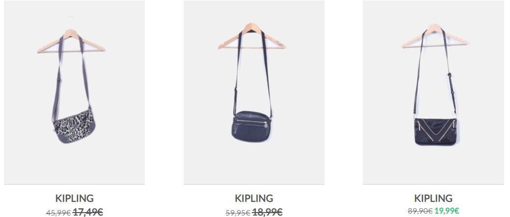 Kipling segunda mano