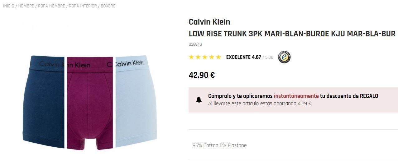 Calvin Klein mofashion