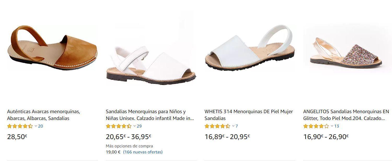 Menorquinas Amazon