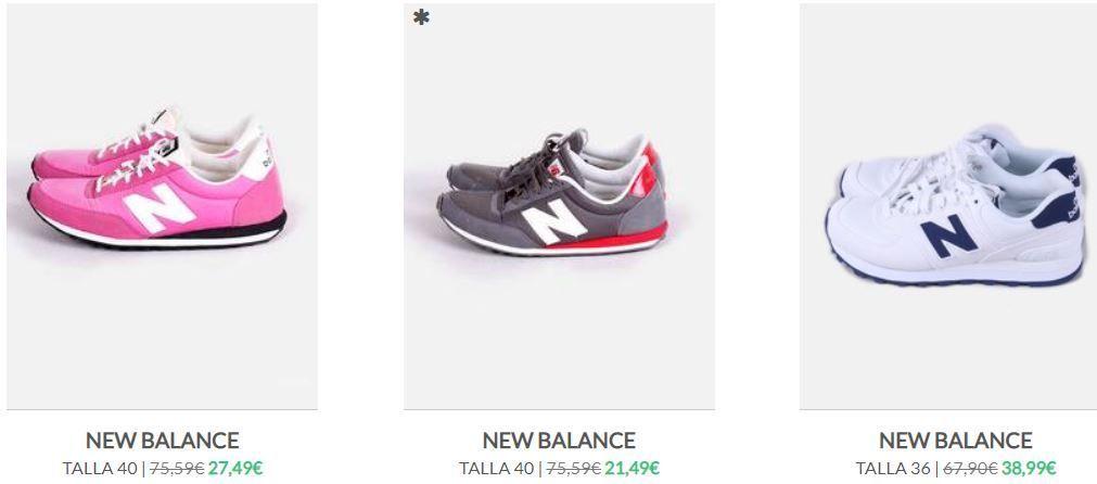 New Balance segunda mano