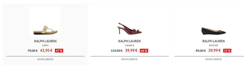 zapatos ralph lauren baratos