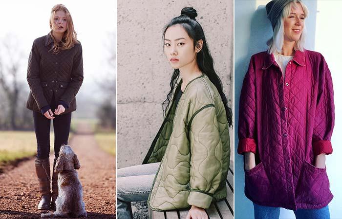 Tipo de chaquetas: chaqueta acolchada