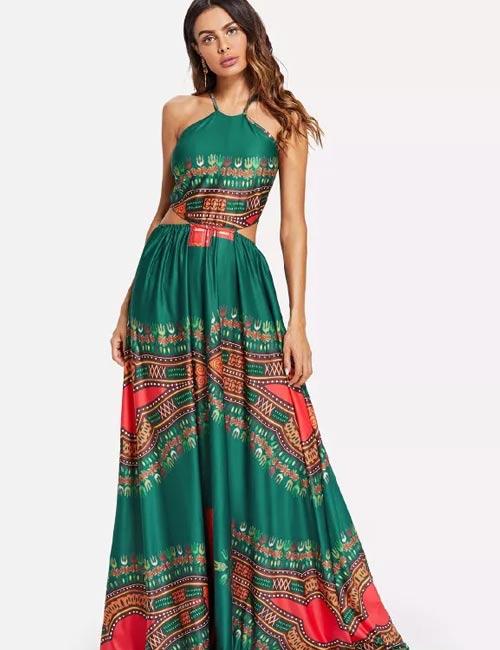 Halter Dress Ideas - Cut Out Halter Dress