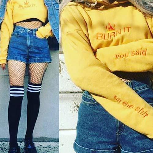 Las mejores tendencias de la moda de los años 80: calcetines de rodilla