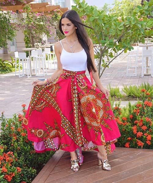 Como llevar una falda larga - Cómo llevar una falda larga en primavera