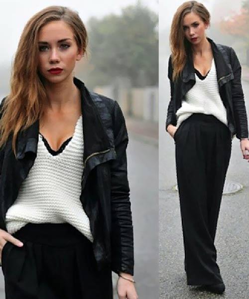 Como llevar una falda larga - Cómo llevar una falda larga en invierno