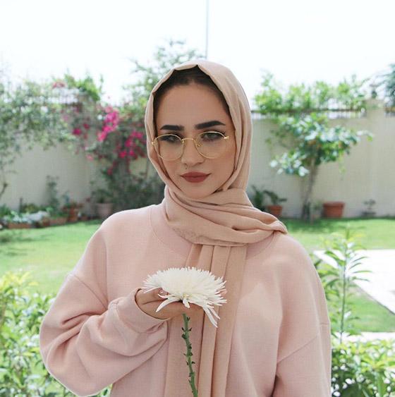 Hijab sin pasadores
