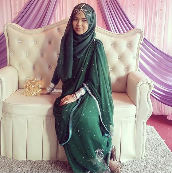 Estilo Hijab para Saree