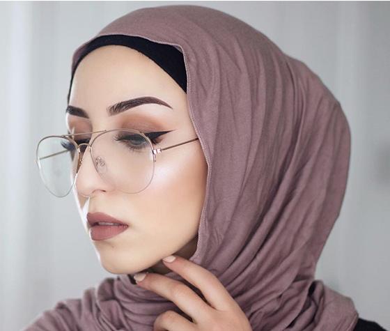 Estilo Hijab para gafas