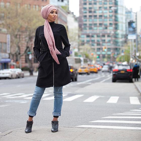 Estilo Hijab para vaqueros