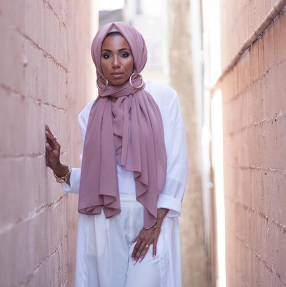 Estilo Hijab moderno