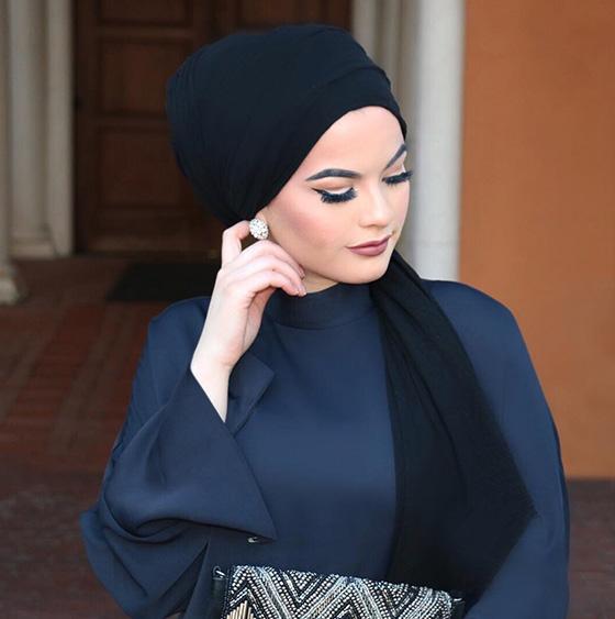 Estilo Hijab para Diamond Face