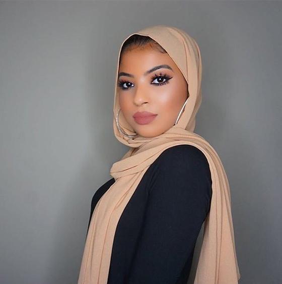 Estilo Hijab para una cara regordeta