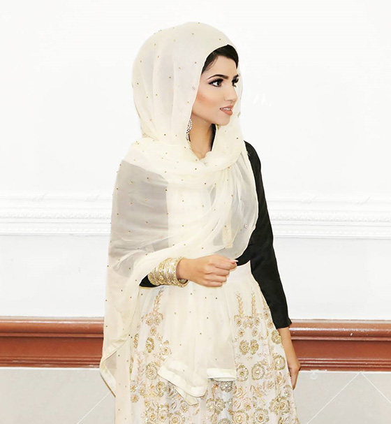 Estilo Hijab para la fiesta